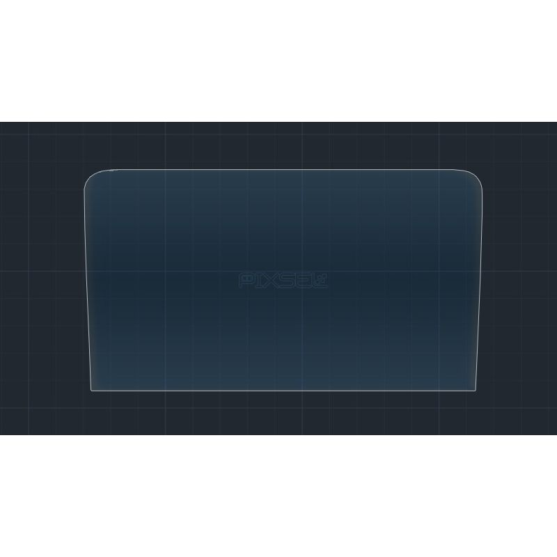 Защитное стекло на монитор Porsche Cayman