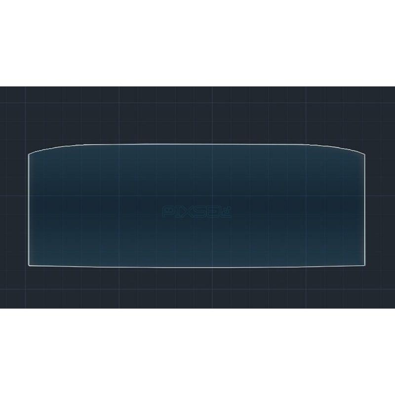 Защитное стекло на приборную панель Skoda Octavia A8