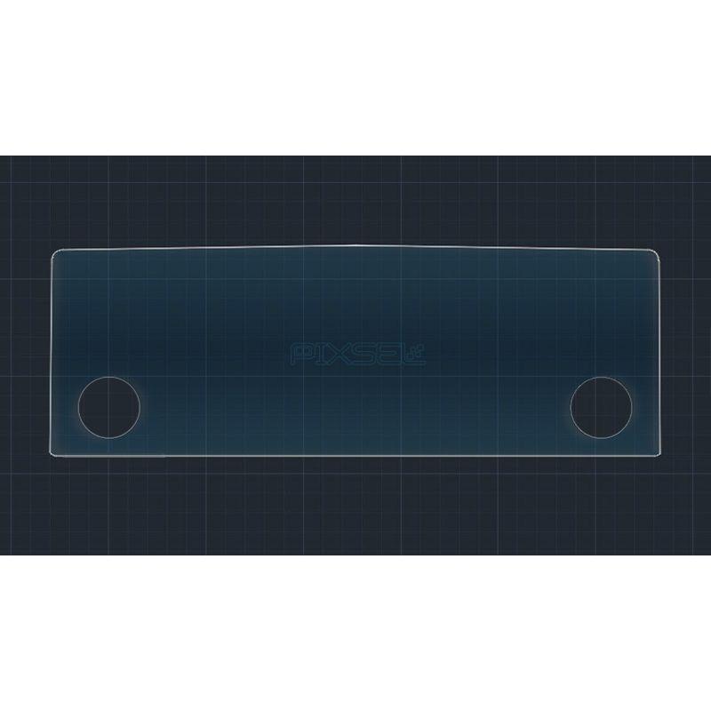 Защитное стекло на монитор Skoda Octavia A8