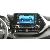Защитное стекло на монитор Toyota Highlander (с кнопками управления)