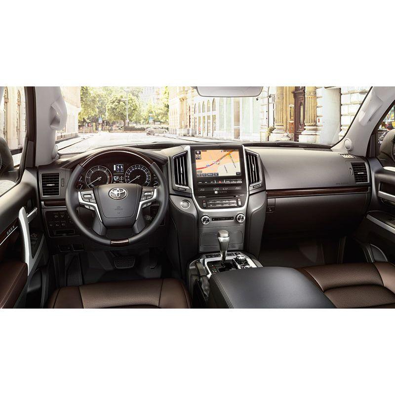 Защитное стекло на монитор c кнопками Toyota Land Cruiser