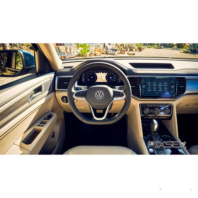 Защитное стекло на приборную панель Volkswagen Atlas