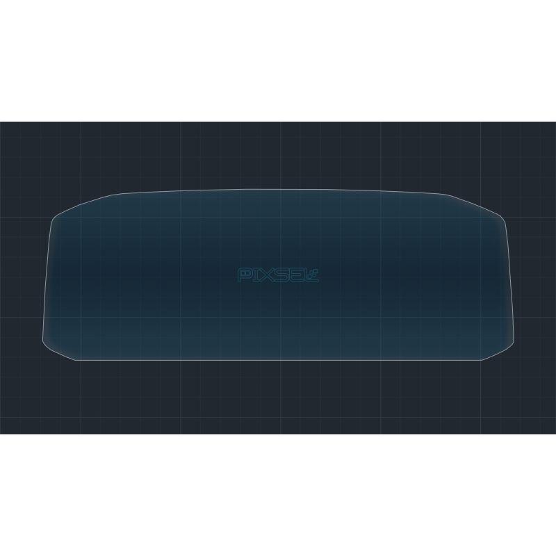 Защитное стекло на приборную панель Volkswagen Tiguan