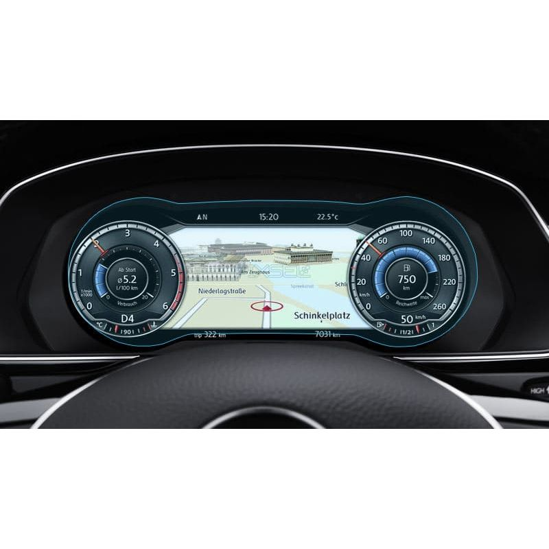 Защитное стекло на приборную панель Volkswagen Passat